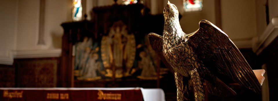The Eagle at St Peter's