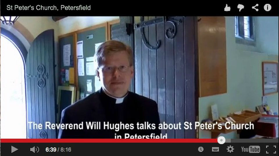 YouTube Video about St Peter's Church